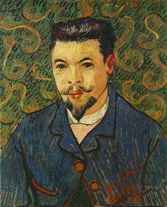 Portrait of Doctor Felix Rey | Vincent Van Gogh | oil painting #vangoghpaintings