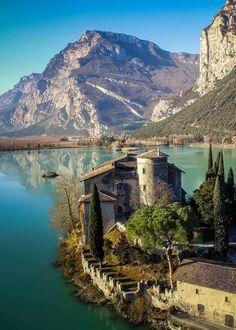 Castel Toblino, Italy