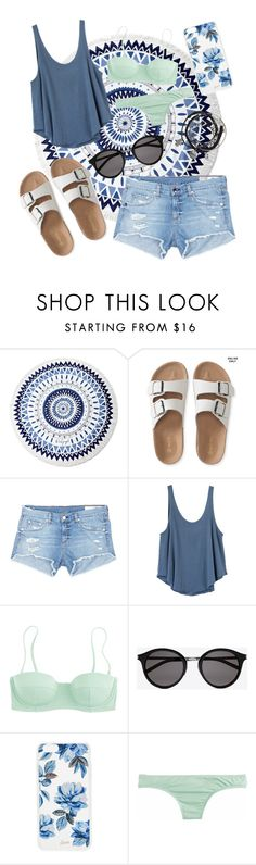 """""""Untitled #63"""" by aelgreen-1 on Polyvore featuring The Beach People, Aéropostale, rag & bone/JEAN, RVCA, J.Crew, Yves Saint Laurent and Sonix"""
