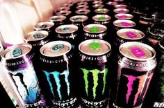 monster, yum.