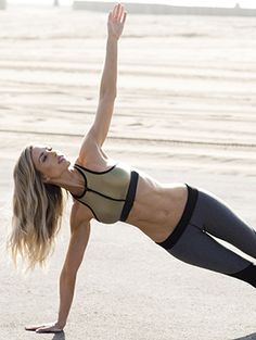 "If you've ever made it all the way through a session at Barry's Bootcamp with instructor and personal trainer Astrid Swan McGuire, then you understand why her body looks totally Photoshopped even IRL. ""I've worked out with other people,..."