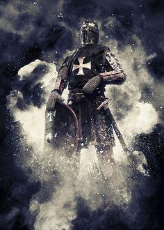 Free Image on Pixabay - Knight, Crusader, Coat Of Arms Knights Hospitaller, Knights Templar, Medieval Knight, Medieval Armor, Templar Knight Tattoo, Shoulder Armor Tattoo, Silver Knight, Norse Tattoo, Viking Tattoos