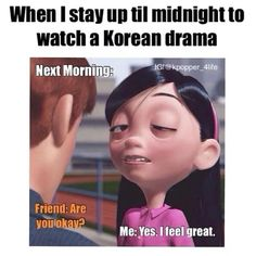 I think I did this more as a drama newbie than I do now. Kdrama Memes, Bts Memes, Funny Memes, K Drama, Ugly Faces, Feeling Great, Make Me Smile, Feelings, Youtube