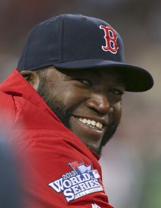 Big Papi smile