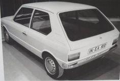 c.1971 AUDI 50 PROTOTYPE (Origally NSU Project K50 to replace NSU Prinz.)
