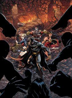 Jason Fabok. (Batman, Harley Quinn, Deadshot, Wonder Woman!)
