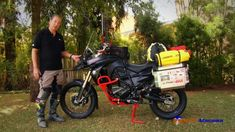 Ricardo Atacama comenta sobre uma Big Trail equipada para expedições (+p...