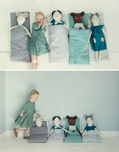 Knuffels à la carte blog: What a lovely slumber party!