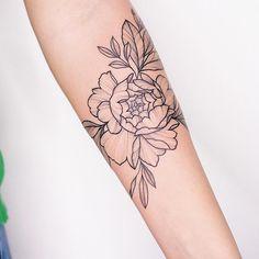 Simple Arm Tattoos, Tasteful Tattoos, Love Tattoos, Beautiful Tattoos, Tatoos, Botanisches Tattoo, Piercing Tattoo, Piercings, Forearm Tattoos