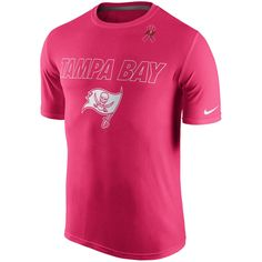 Nike Tampa Bay Buccaneers Pink Breast Cancer Awareness Legend Performance T- Shirt c0984bdf8