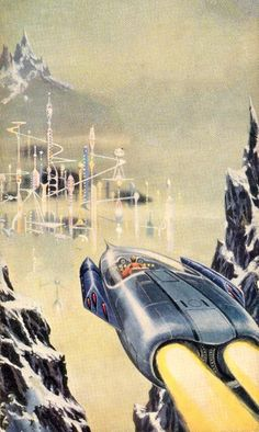 Ed Emshwiller - The Pawns of Null-A, 1960The Science Fiction Gallery