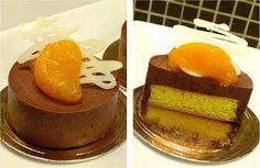 mandarin oranges & chocolate