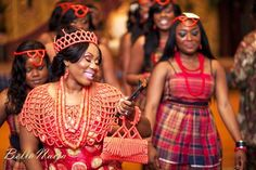Traditional Igbo Brides [the shoulder piece—traditional intro; both head shoulder piece—traditional intro in nigeria] Nigerian Dress, Nigerian Bride, Nigerian Weddings, Nigerian Traditional Wedding, Traditional Wedding Dresses, Traditional Weddings, African Dresses For Women, African Attire, African Women