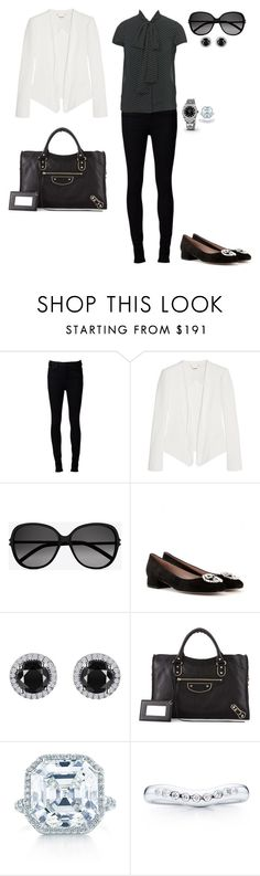 Sem título #1719 by analuli on Polyvore featuring moda, Nina Ricci, Naked & Famous, Gucci, Balenciaga, Reeds Jewelers, Tiffany & Co., Elsa Peretti, Yves Saint Laurent and Rolex