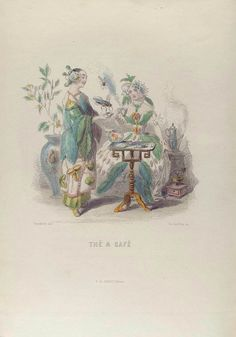 Thé & Café [Tea and coffee] From New York Public Library Digital Collections.
