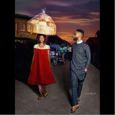 #AWESOME: TY Bello photographs an 'Agege Bread' seller into fame (photo) #vibes247