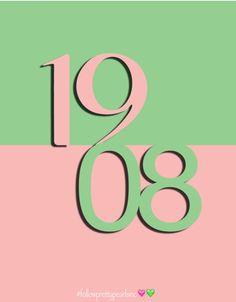 #followprettypearlsinc AKA 1908