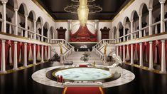 Seth's mansion interior by imagedeli.deviantart.com