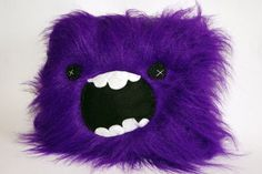 Purple Monster Plush Soft Toy