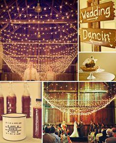i love barn weddings!