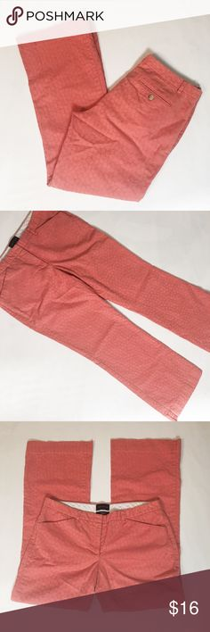 """The Limited Drew Fit Pants The Limited Drew Fit Pants. Size 8. Color: peach. 97% cotton, 3% spandex. These hit right at my ankles (I'm roughly) 5'6"""". 30"""" waist, 8 1/4"""" rise, 37"""" length, 29"""" inseam. Garment measurements taken laying flat without stretching. The Limited Pants"""