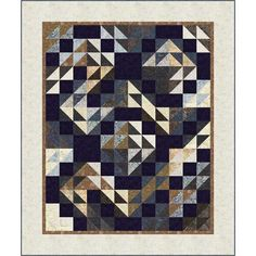 Timeless Treasures Tonga Treat 6 Pack Rockport Double Puzzle Quilt Kit x Puzzle Quilt, Hancocks Of Paducah, Timeless Treasures Fabric, Batik Quilts, Tonga, Quilt Kits, 6 Packs, Best Brand, Blanket