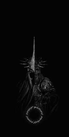 Lord of the Rings fandom on to find out more interesting fan arts about it. Lord Of Rings, Lord Of The Rings Tattoo, The Lord Of The Rings, Jrr Tolkien, Dark Fantasy Art, Dark Art, Hexenkönig Von Angmar, Witch King Of Angmar, Gif Terror