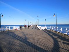 The pier - view from the entrance