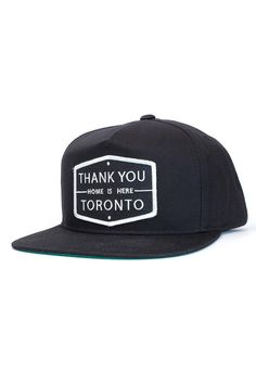 """dc3743bedc Thank You™ Toronto – """"Home Is Here™"""" Limited edition snapback cap with"""