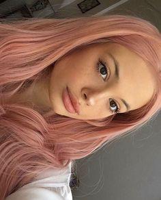 Hair Color Pink, Hair Dye Colors, Cool Hair Color, Pink Hair, Dead Hair, Dying My Hair, Strawberry Blonde, Aesthetic Hair, Grunge Hair