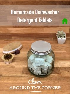 Dishwasher detergent tablet Easy quick recipe to create your own homemade powerful safe and effective home-cleaning formulas for every part of your home cleaning supplies to clean your entire home eco-friendly detergent household