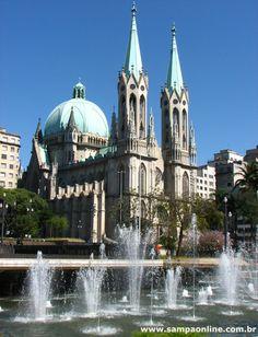 Brasil- São Paulo - Catedral da Sé