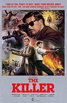 "Movie: ""The Killer"" starring Chow Yun-Fat & director John Woo.. most guns…"