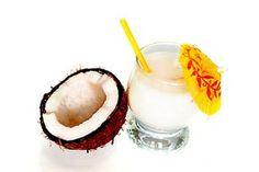 Domácí Malibu ks sáčku strouhaného kokosu 1 ks Salka l vodky Food And Drink, Vodka, Coconut, Homemade, Smoothie, Fruit, Drinks, Cake, Syrup