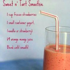 Smart n Tart smoothie