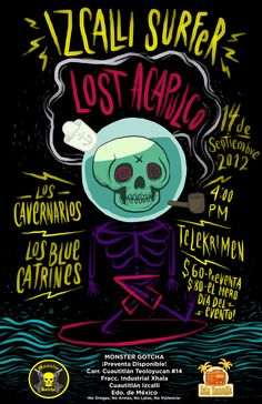 Lost Acapulco Gig Poster