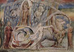 El infierno de Dante. William Blake