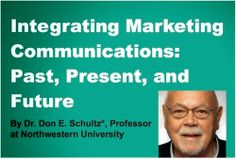 """Join the live stream of """"father of IMC"""" Dr. Don Schultz's IMC Speaker Series event at Marist College, Friday, March 7, 1:30-3:30 p.m."""