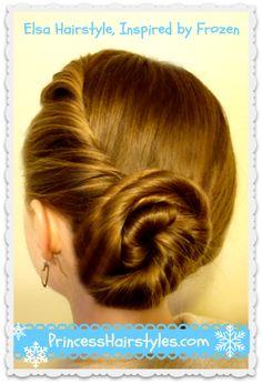 frozen elsa coronation hair - Google Search