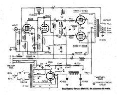 12AU7 / ECC82 Cathode Follower Tube Preamplifier Schematic