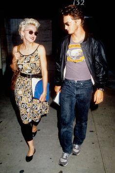 Madonna + Sean Penn circa 1986