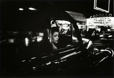 artnet Galleries: Woman in front of Apollo, NY by William Klein from Fifty One Fine Art Photography Abstract Photography, Fine Art Photography, Street Photography, People Photography, White Photography, William Klein, Black And White Love, City Scene, French Photographers