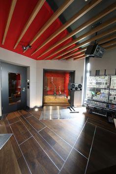 Audio rooms studio Studio B - Joel Morrow - Audio Studio, Music Studio Room, Studio Setup, Studio Ideas, Dj Setup, Sound Studio, Film Studio, Dance Studio, Home Music Rooms