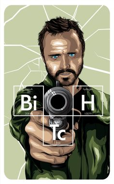 Jesse Pinkman by Denis O'Sullivan, via Behance