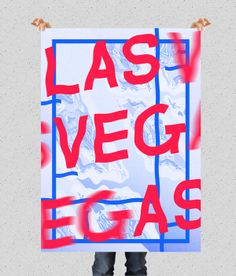 LAS VEGAS // show us your type by André Silva and VÉRTICE Design Studio on Behance
