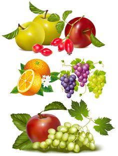 Color Fruit Poster