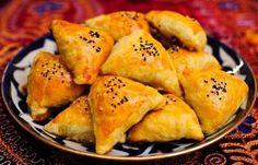 Готовим узбекская пирог с мясом