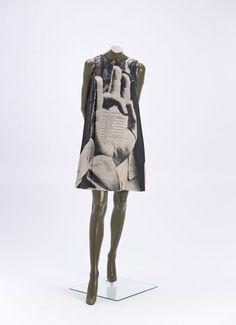 poster dress with allen ginsberg poem