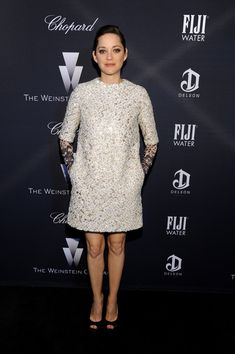 Marion Cotillard  - FIJI Water At The Weinstein Company's Academy Awards Nominees Dinner In Partnership With Chopard, DeLeon Tequila, FIJI Water And MAC Cosmetics