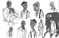 Art of Animation Illustration Story, Illustrations, Illustration Sketches, Character Illustration, Animation News, Animation Storyboard, Guy Drawing, Drawing Poses, Drawing Step